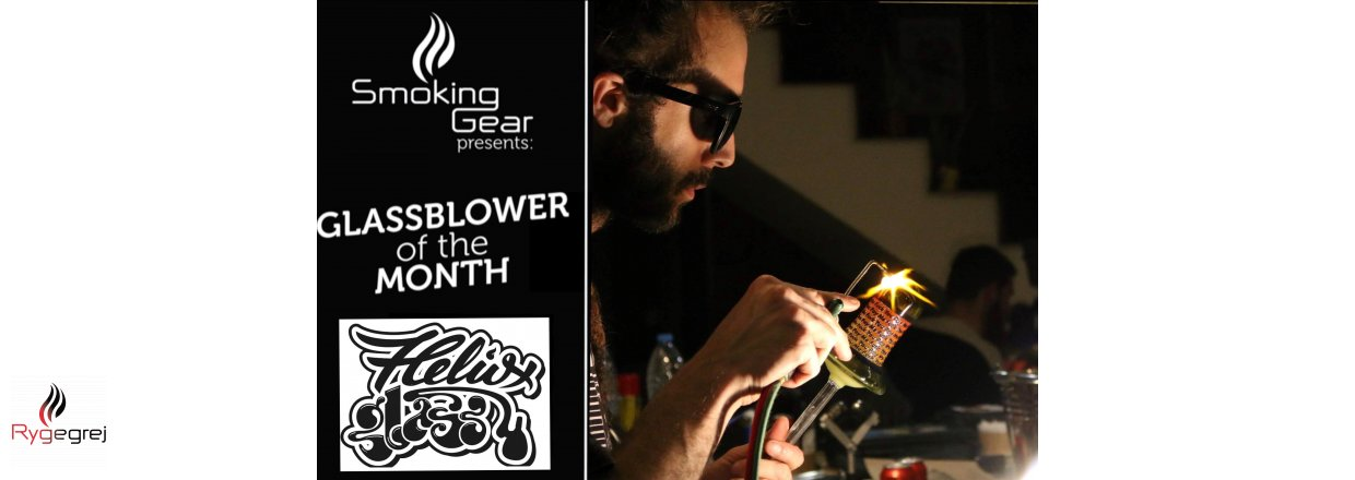 March : Glassblower of the month : HELIOX Glass
